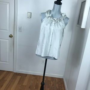 J. Crew Tops - JCREW SILK BUTTON UP TANK TOP SIZE SMALL